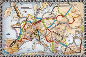 La carte de l'Europe