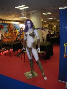 Je vous aurez bien montré l'armure du roi liche mais photos interdites...