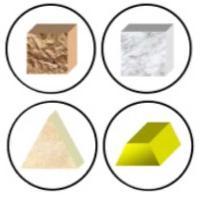 Les ressources : pierre, marbre, pigment et or
