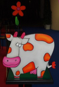Les tables de Mow, pour faire des jeux vaches.