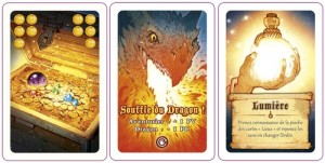 Quelques cartes de Dragon Run