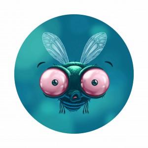 Une mouche