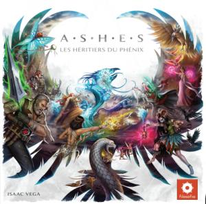 La boite de Ashes les héritiers du phénix