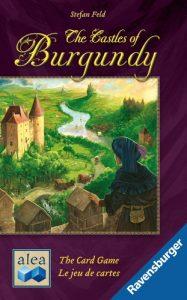 La boite de châteaux de bourgogne, le jeu de cartes.