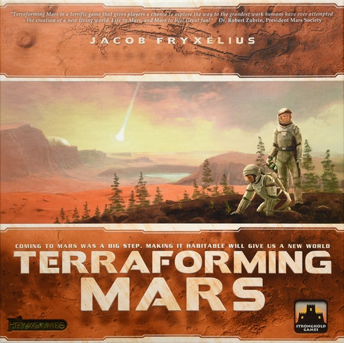 La boite de Terraforming Mars