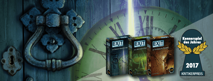 Les 3 premiers scénarios d'Exit