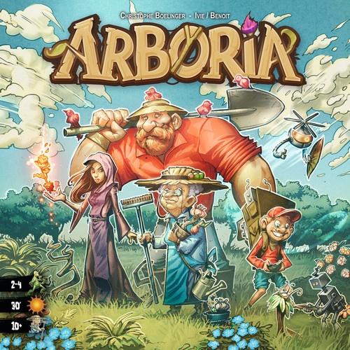 La très jolie boite d'Arboria